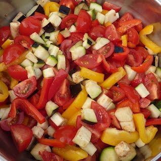 mediterranean chutney before cooking